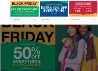 [갭] 블랙프라이 데이 모든 제품 50%할인 + 10% 추가할인 알뜰구매