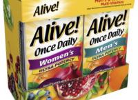 얼라이브! 고함량 종합 비타민 2개 (32,100원 / 무배)