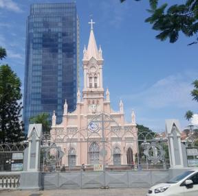 베트남 다낭 핑크대성당