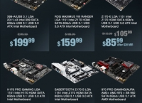 [newegg] Up to 36% Off ASUS Motherboards(다양/$2.99 프리미어 무료)