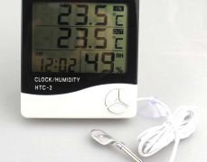 [알리]디지탈 실내,외부온도/습도/시계 ($6.6/한국까지 무료 직배송)