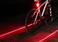 자전거 후면 안전경고등 LED 2 레이저 램프($1.75 /무료배송)