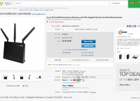 [ebay.com] Asus RT-AC68P Dual-band Wireless AC1900 Gigabit Router-Certified Refurbished (114.99/fs)