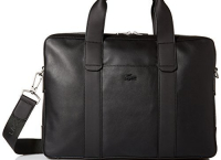 Lacoste Men's Full Ace Computer Bag 라코스테 노트북 가죽가방$214.99