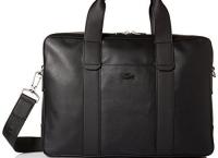 Lacoste Men's Full Ace Computer Bag 라코스테 노트북 가죽가방$214.99