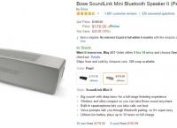 [amazon] Bose Sounlink Mini 2 ($179/USFS)