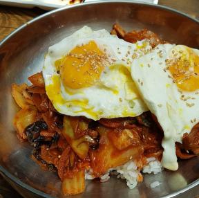 대구의 별미 중화비빔밥