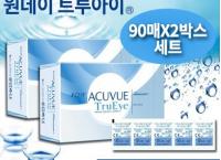 [큐텐] 원데이 아큐브 원데이 트루아이 (90매 X 2박스세트) ( 138,400원 / 무료배송 )