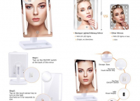 여성  LED메이크업 거울 BESTOPE 24 LED Makeup Mirror(할인코드10달러할인)