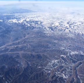 한국 오는 비행기에서