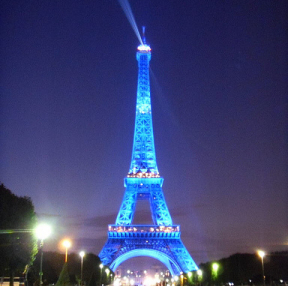 에펠탑 야경