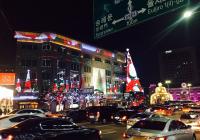 얼마전 크리스마스 아름다운 명동 밤야경~