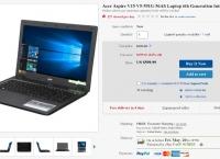 [ebay] Acer Aspire V15 i5-6300HQ 8G 128G SSD+1TB HDD GTX 950M ($599.99/FS)