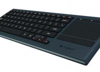 [Amazon] Logitech K830 Illuminated Living-Room Wireless Touchpad Keyboard for Internet-Connected TVs (Bluetooth & Wireless USB Keyboard) ($54.99/무료, 직배 $8.67)