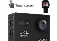 Andoer 스포츠 액션 카메라 4K 터치스크린 액션캠 할인코드 적용시 $42.99