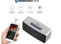 유니텍 블루투스 스피커 Unitek Bluetooth 4.0 Portable Wireless Speaker (할인코드-23달러)