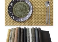 식탁의 품격을 높여주는 순수 식탁 테이블 매트 홈파티에 어울리는 고급스러운 분위기
