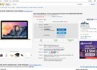 [ebay.com]MacBook 12-Inch Laptop Gold 256GB 8GB(Early 2015) (899.99/free)