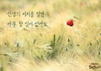 """[감동] 법륜스님의 희망편지 """"인생의 이치를 알면 아무 할 일이 없어요"""""""