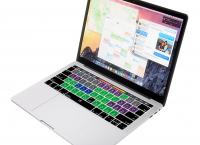 맥북용 실리콘 키보드 커버 ($5.99)