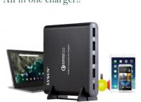 만능/범용충전기 LVSUN 80W ($35.99 /무료배송)