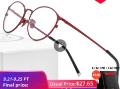 [알리] fonex 초경량 티타늄 안경테 ($17.57/무배)