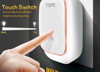 4포트 LED USB 램프 벽 충전기 ($11.39 /무료배송)
