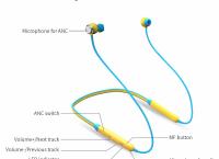 Bluedio TN Active Noise 블루투스 이어폰 $13.68 /무료배송