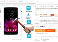 [ali] Tempered Glass For LG G Flex 2 ($2.49/free)