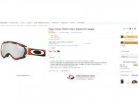 [Amazon] Oakley Canopy Torstein Horgmo Signature Ski Goggles ($77.28 /Free, 한국직배가능)