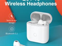 [알리] 큐씨와이 T8 듀얼 연결 블루투스 이어폰($16.6/무배)