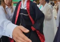 손이 가장 큰 여성 경호원