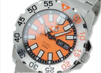 (큐텐)세이코5 스포츠 오토매틱 오렌지 몬스터 SRP483K1 SRP483K SRP483