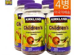 코스트코 어린이용 종합비타민 젤리 4통 (38,500원/무료배송)