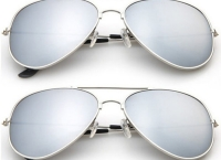 [tanga] 2-Pack: Designer-Inspired Mirrored Aviators Sunglasses($5.99/FS)