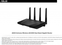 [newegg]ASUS RT-AC87U Dual-band 4x4 AC2400 4-port Gigabit Gaming Router($160/FS)