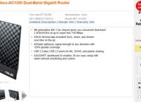 [frys] Asus RT-AC56U Wireless-AC1200 Dual-Band Gigabit Router($70/fs)