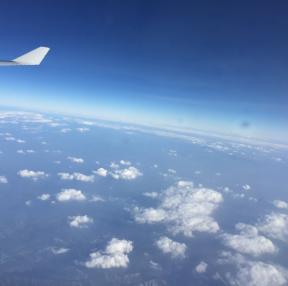 비행기를 처음탈때느낌...