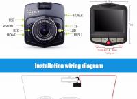 블랙박스 / 자동차 DVR 카메라 GT300 캠코더 - US $16.45 / 개