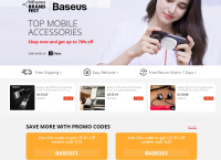 Baseus  전자제품 최대 70 할인 (단 2일)