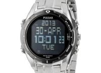 Pulsar 펄사 디지털 다이얼 PQ2001 남성시계 최저가$65.59
