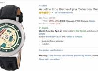 [amazon] Accutron II By Bulova Alpha Collection Men Watch 96a155 [$199.99,FS]