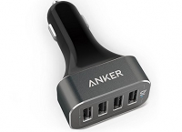 앤커 48w 자동차 차저 Anker 48W 4-Port USB Car Charger