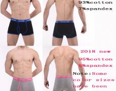 4Pcs 섹시한 속옷 남성 복서 팬티 ($9.89 /무료배송)