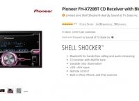 [newegg] Pioneer FH-X720BT CD Receiver with Bluetooth ($94.99/fs)