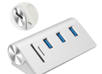 USB 3.0 Hub 3 Port + 2 Slot,SD / Micro SD 카드 ($15.98 /무료배송)