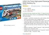 [AMAZON] LEGO City High-speed Passenger Train 60051 ($90.33,Prime member only)
