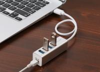 USB 3.0 4포트 허브 ($8.98/무료배송)