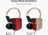 알리 kz 에서 새로나온  KZ BA10 이어폰 ($70 /무료배송)