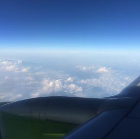 구름 참 맑네여